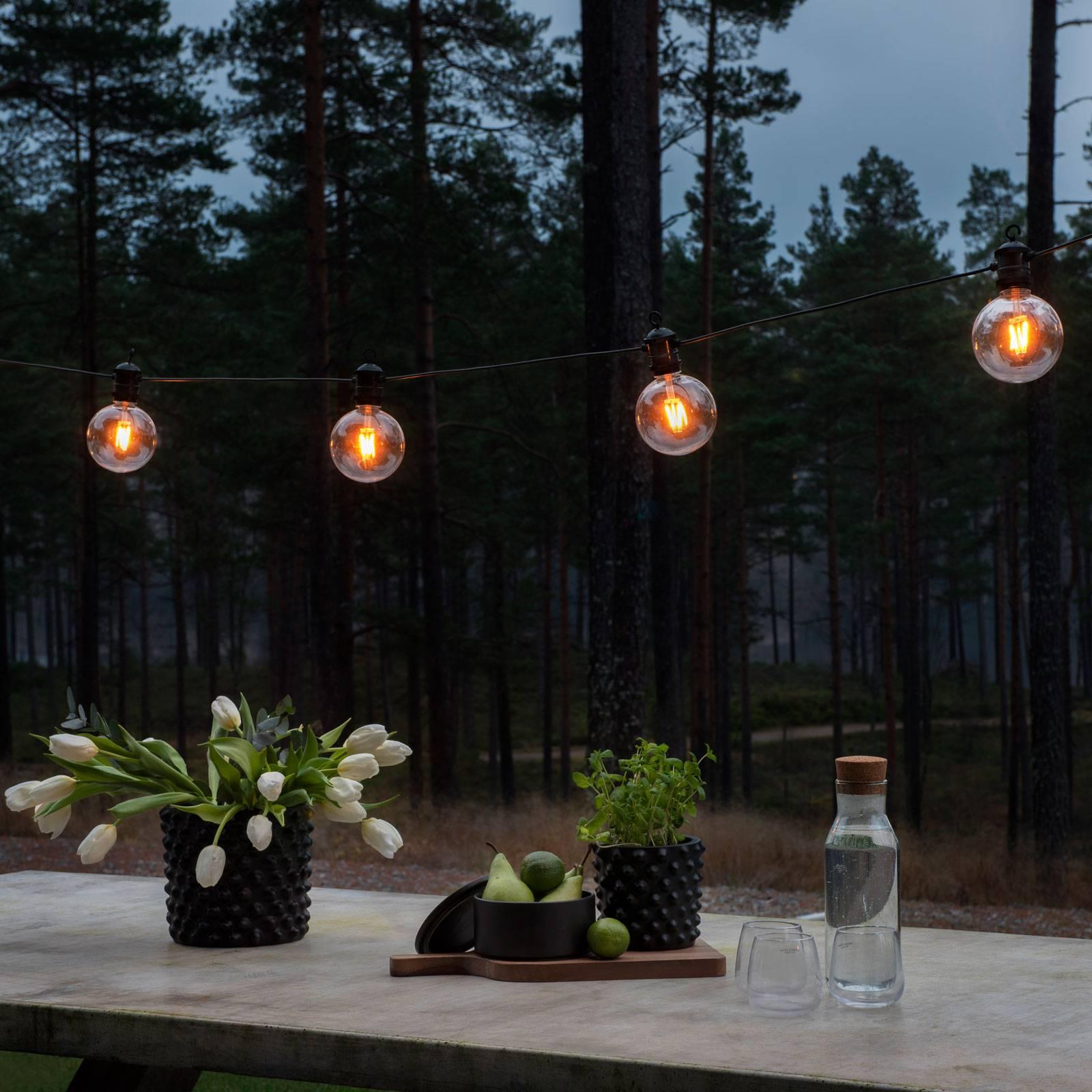 Konstmide CHRISTMAS LED světelný řetěz Globe venkovní 10 zdrojů