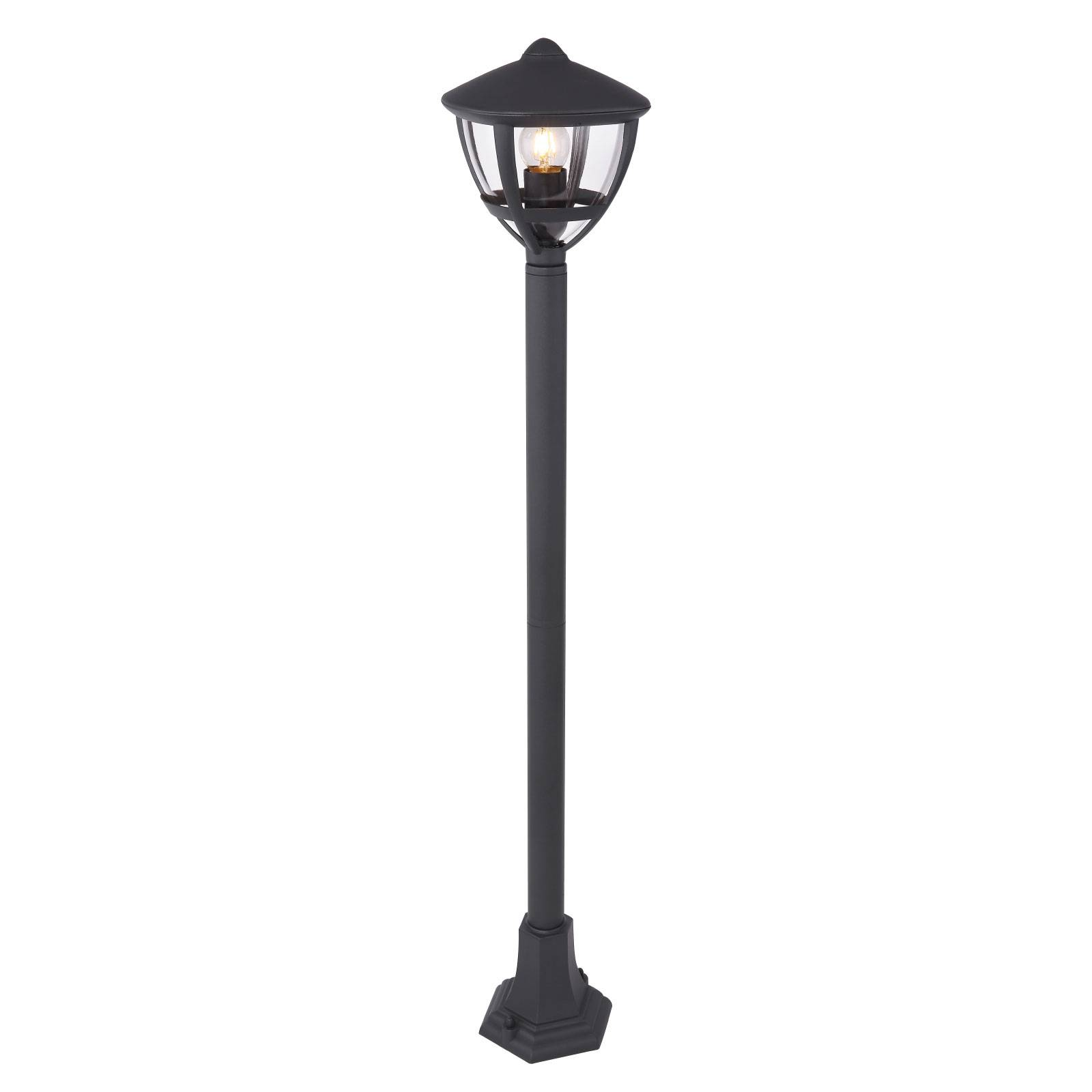 Tuinpadverlichting Nollo in lantaarnvorm, zwart