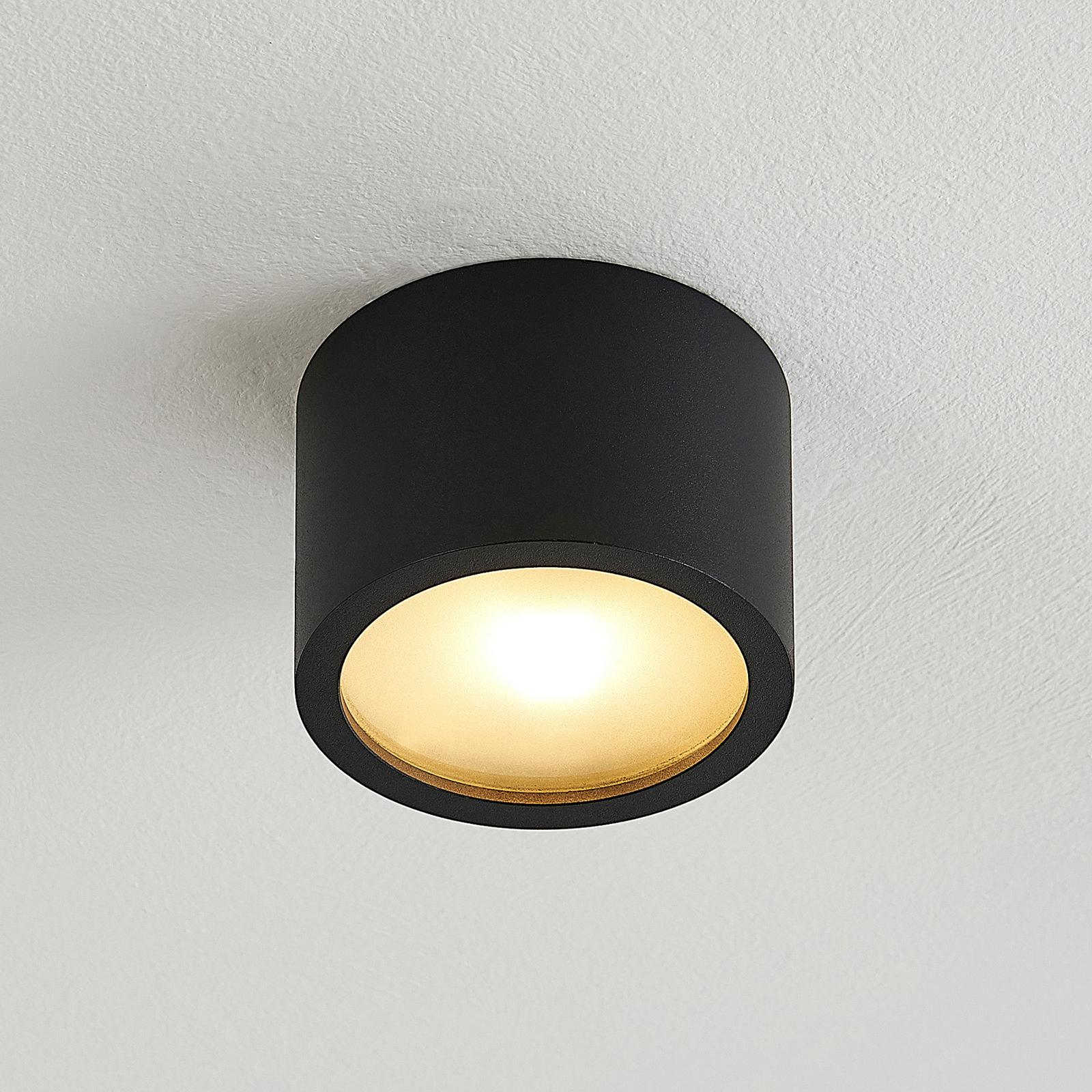Arcchio Nieva Downlight, G9, rund, schwarz