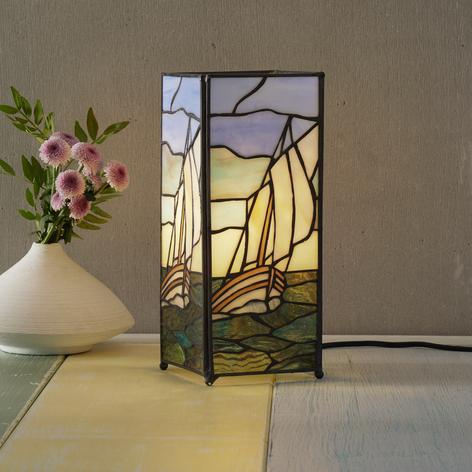 Lampe de table Alvina pittoresque