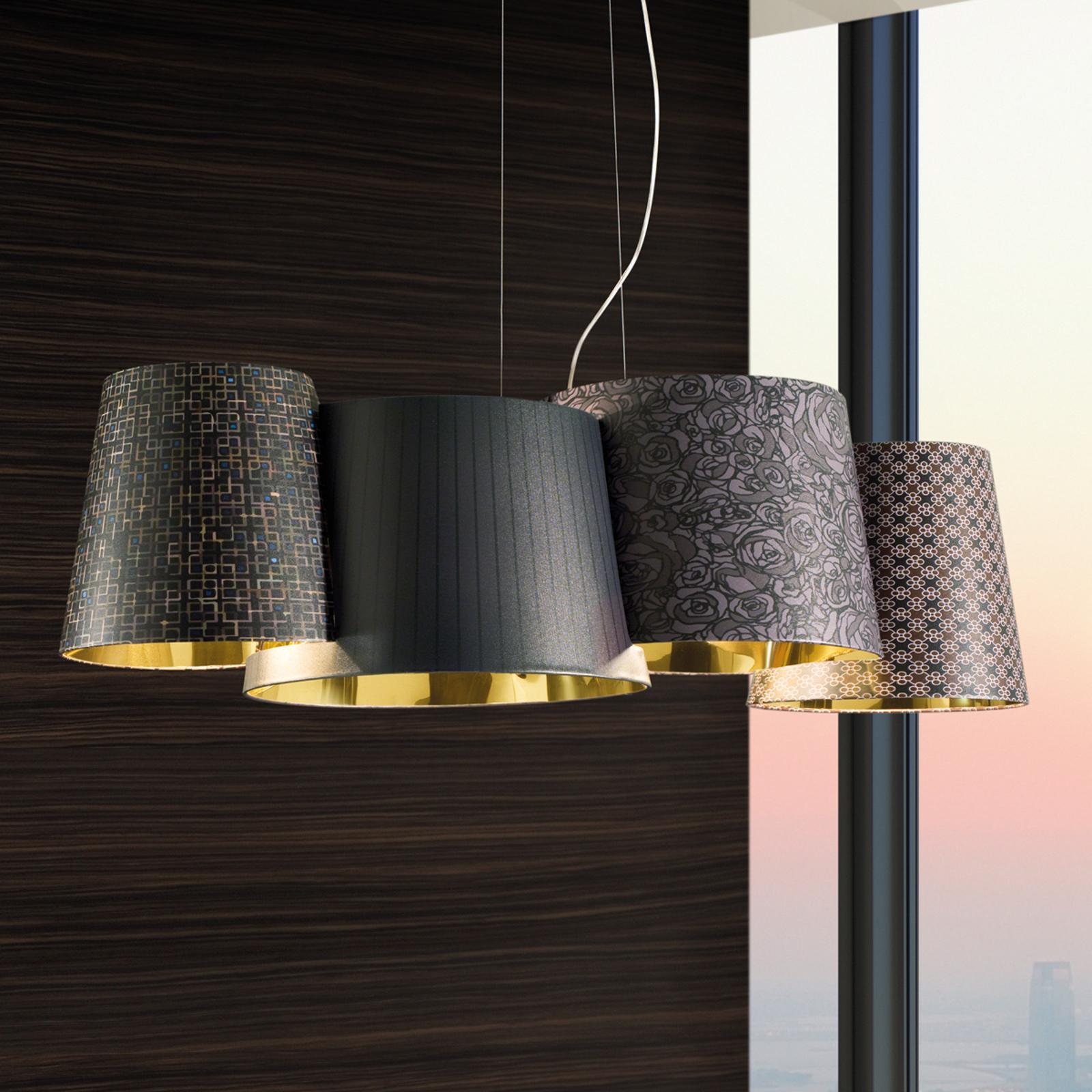 Lampa wisząca Melting Pot - z ciemnym wzorem