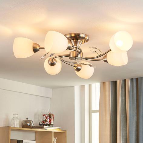Lámpara de techoTaras de seis cabezales