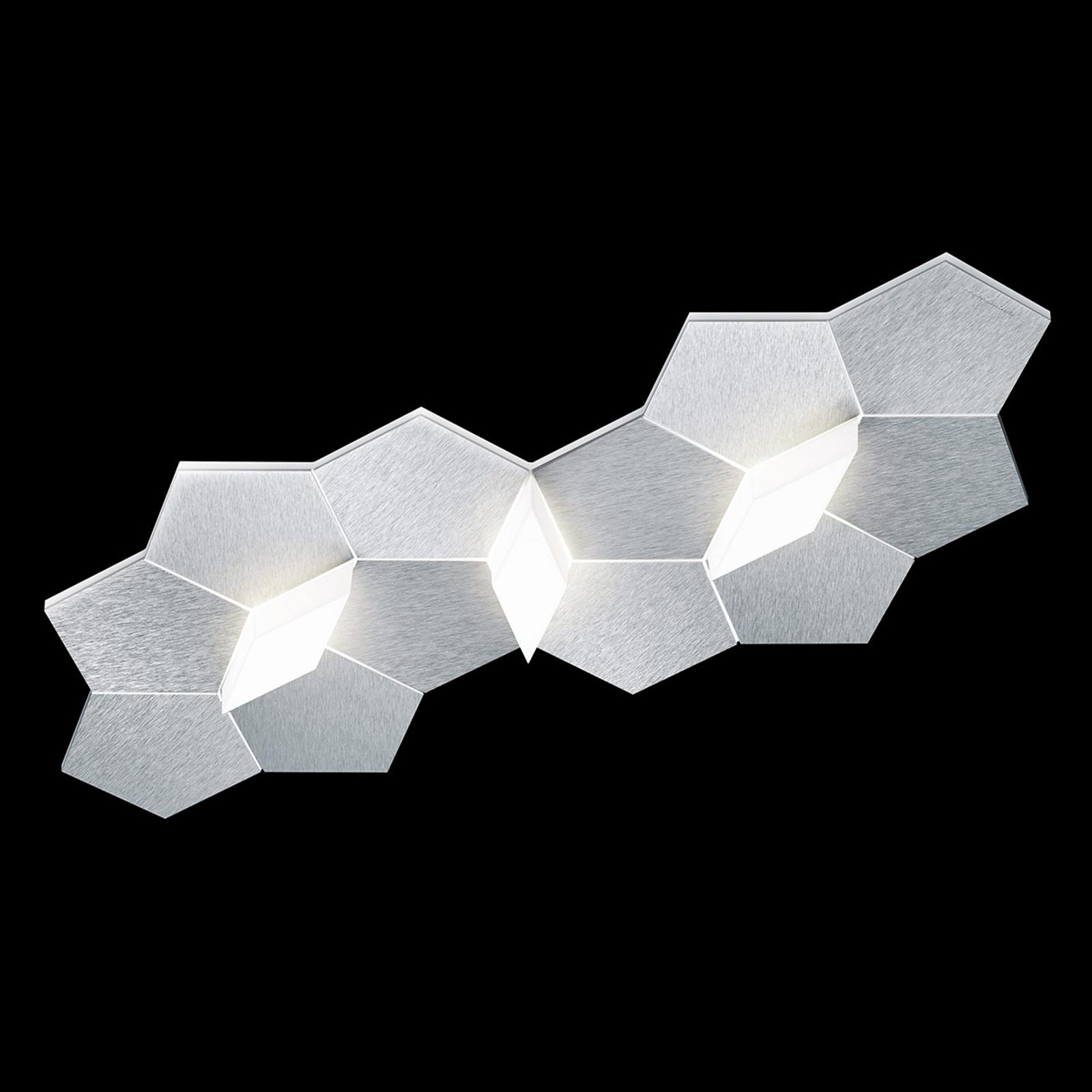 GROSSMANN Linde LED-vegglampe, tre lyskilder