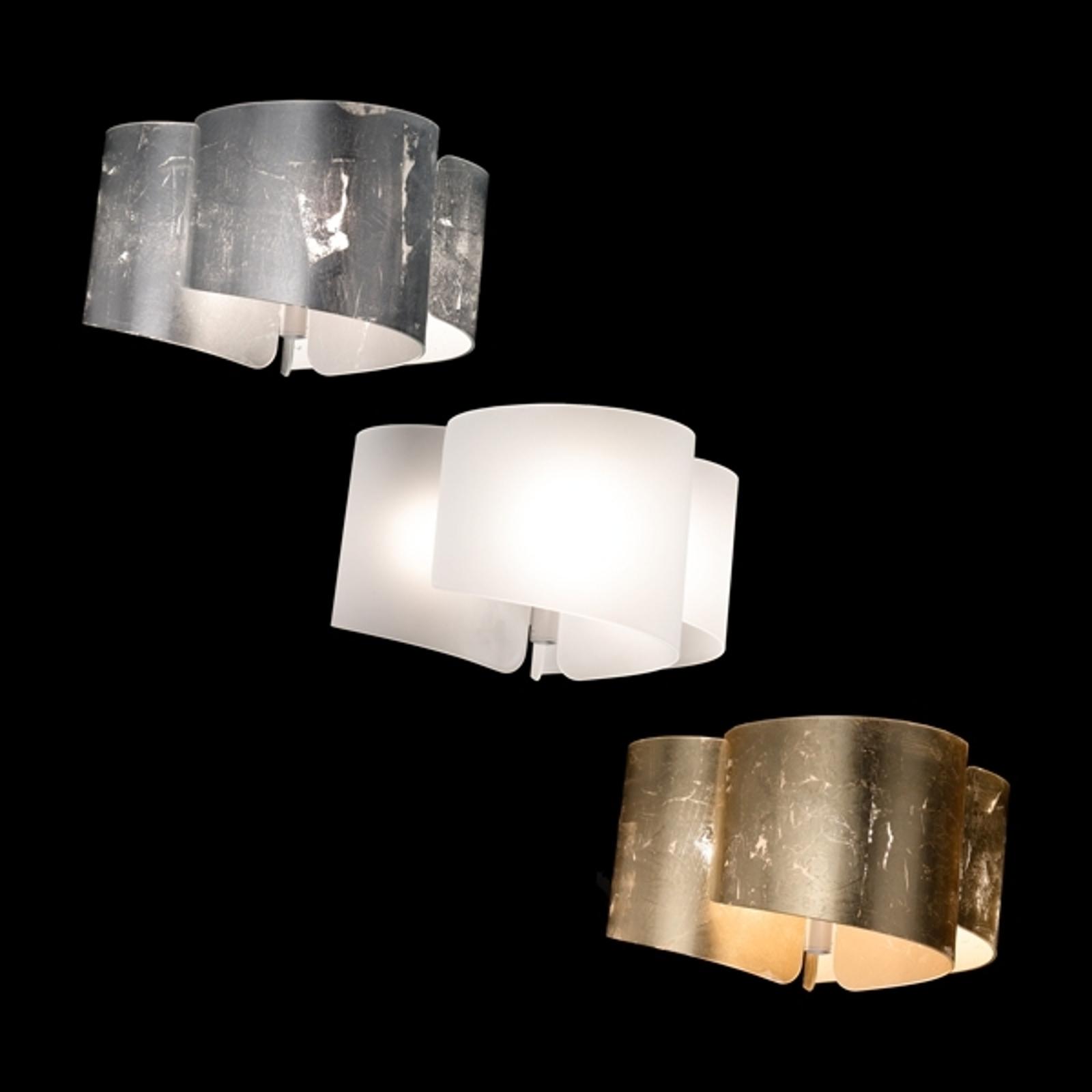Efektowna lampa sufitowa Papiro satynowa