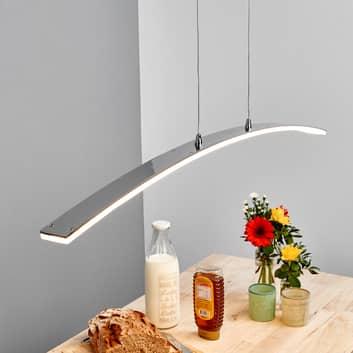 lámpara pendular LED con forma de arco Lorian