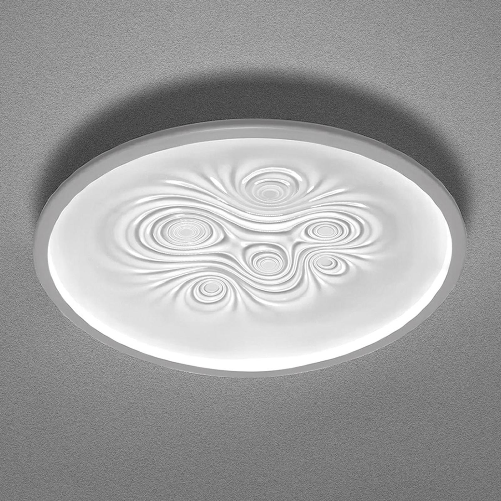Effectieve LED wandlamp Nebula, wit