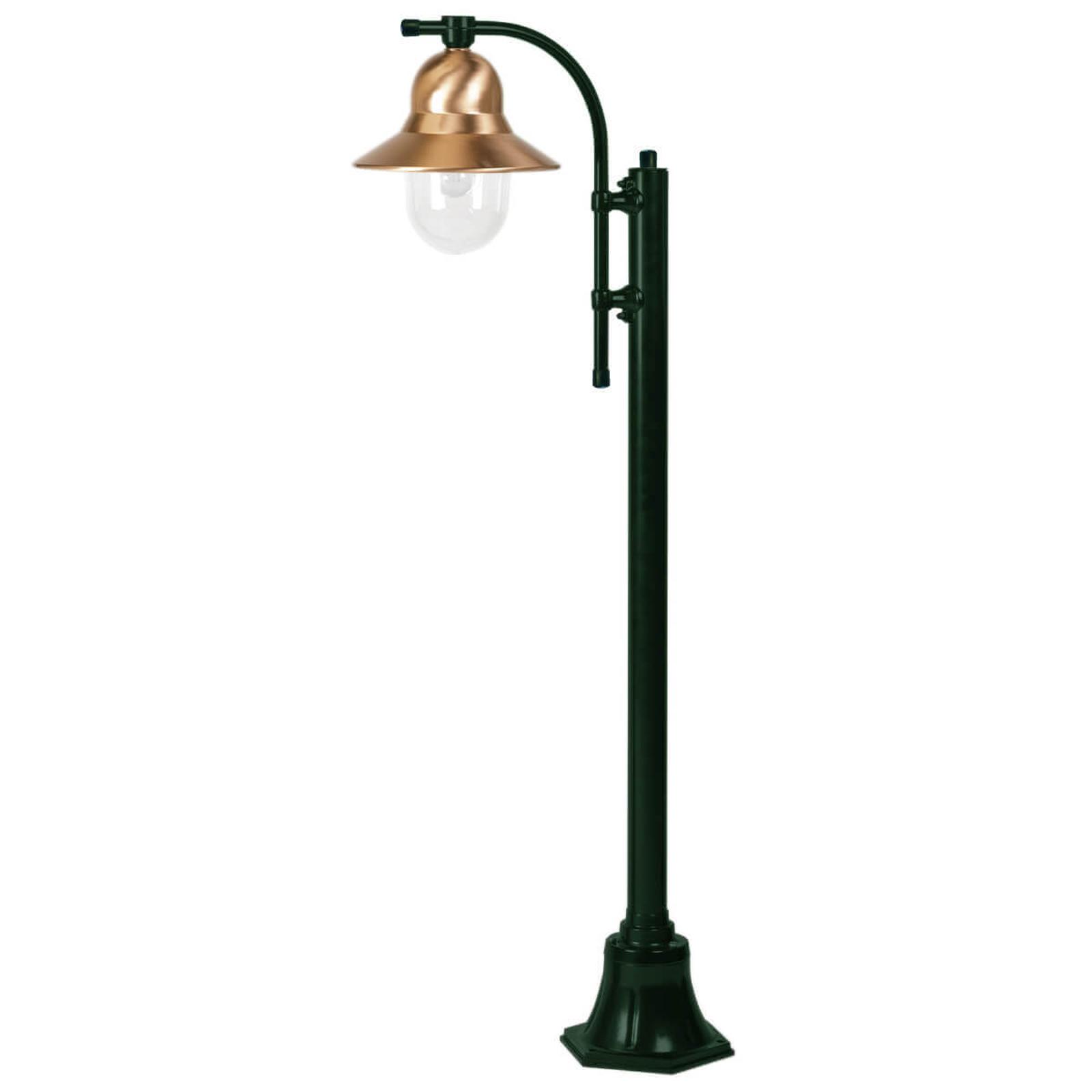 Lampadaire Toscane à 1 lampe 150 cm vert