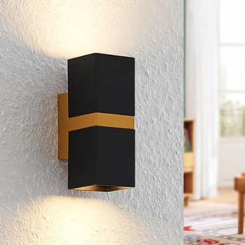 Arcchio Samsa aplique, 2 luces, negro