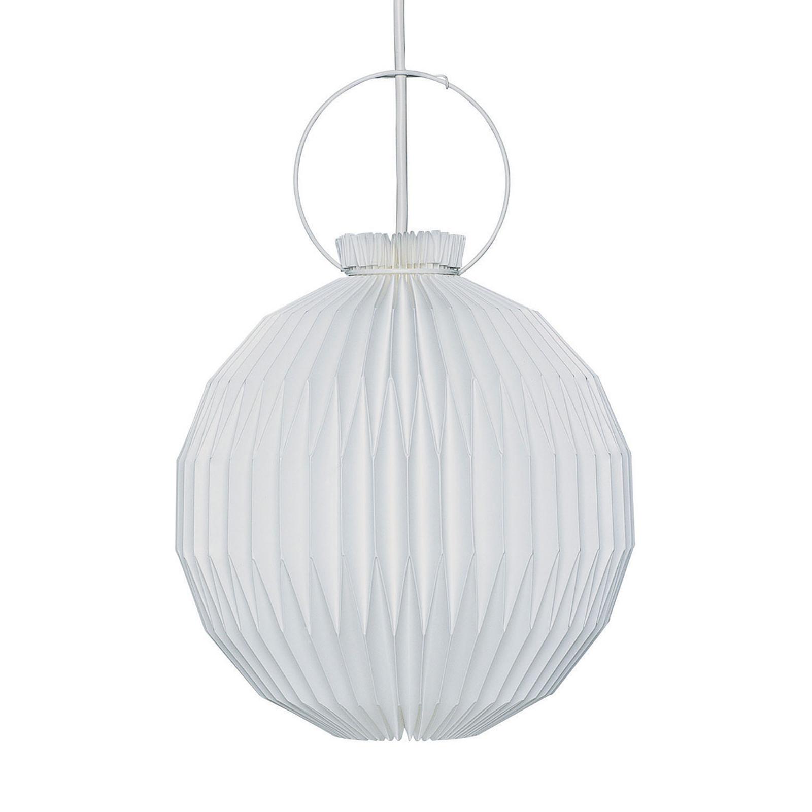 LE KLINT 107 - papier-hanglamp, handgemaakt