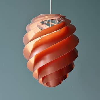 LE KLINT Swirl 2 - designer-pendellampe, kobber