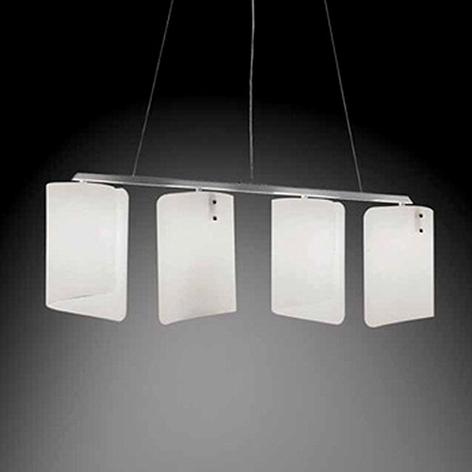 Suspension à 4 lampes Papiro