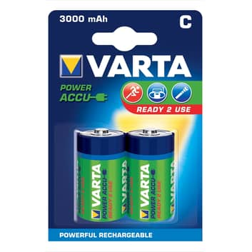 2 akumulatory Varta C Baby 56714 1,2V 3000 m Ah