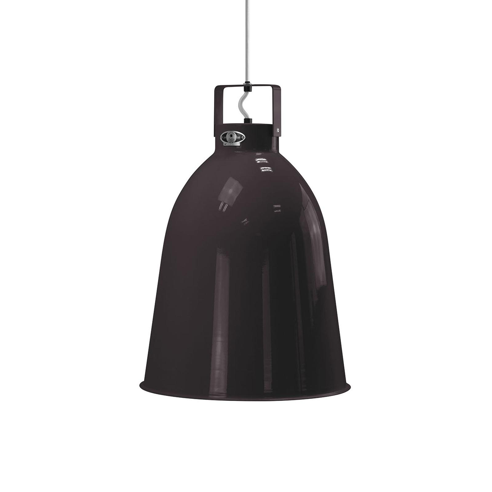 Jieldé Clément C360 lampa wisząca czarna Ø36cm