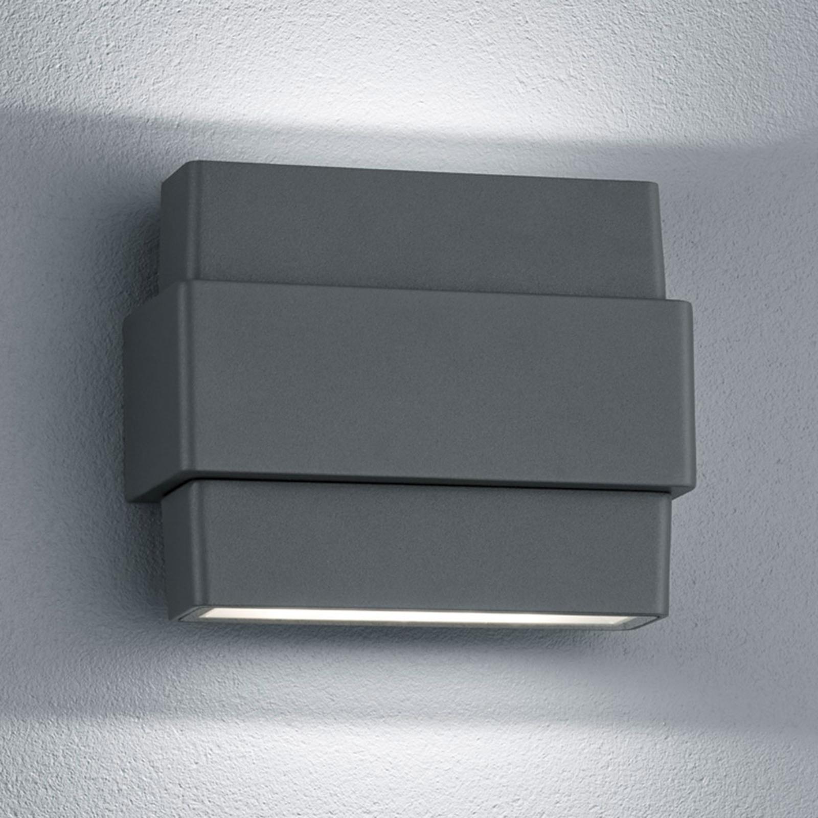 Applique d'extérieur LED Padma en anthracite