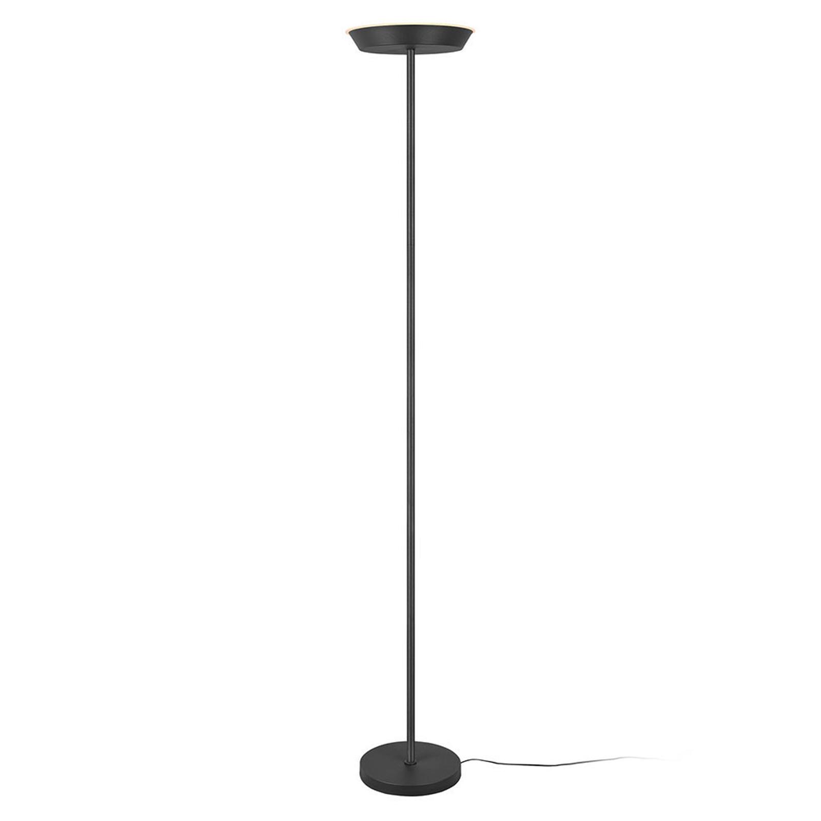 Lampe éclairage indirect LED Swona WiZ noir mat