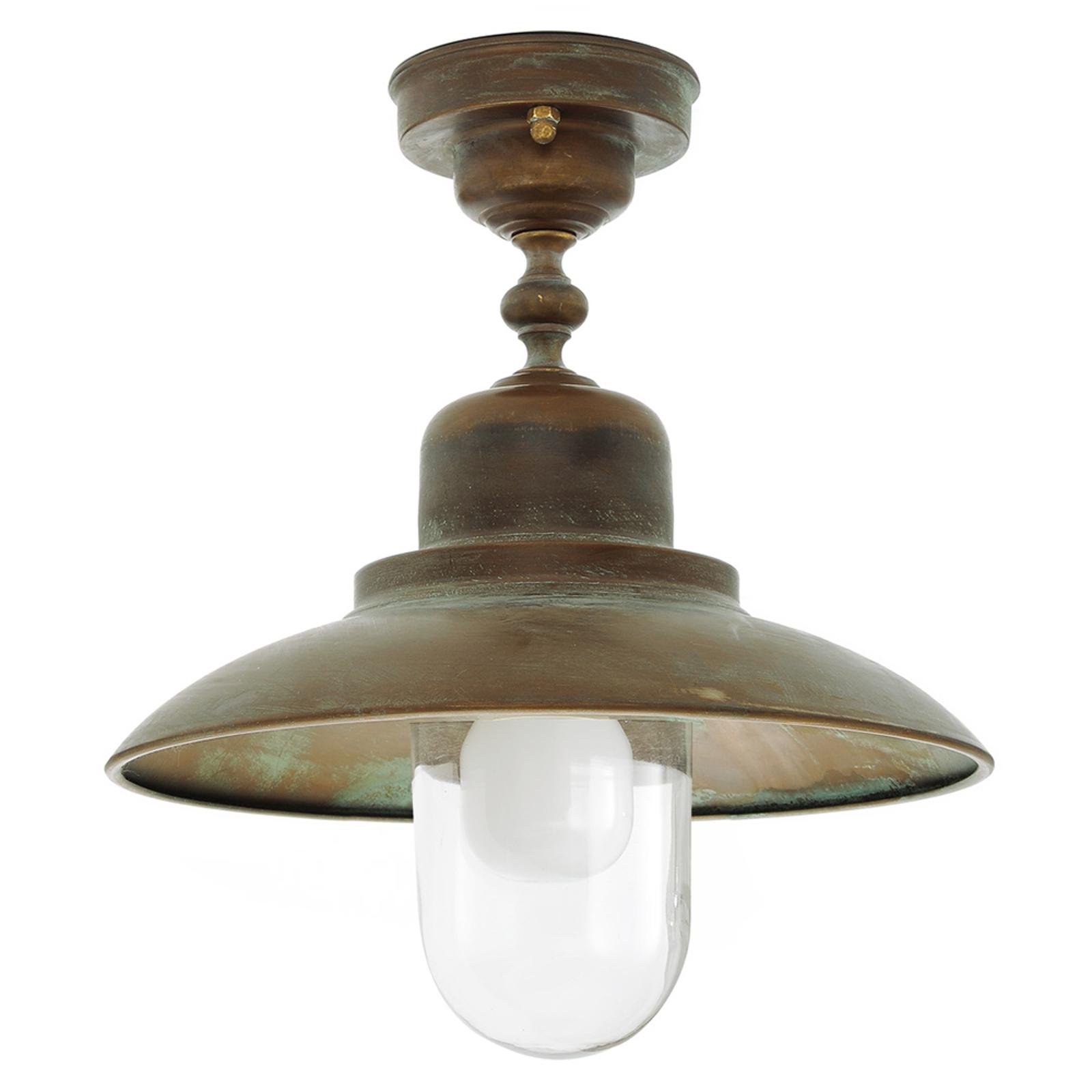 Wartościowa mosiężna lampa sufitowa Turino - IP44