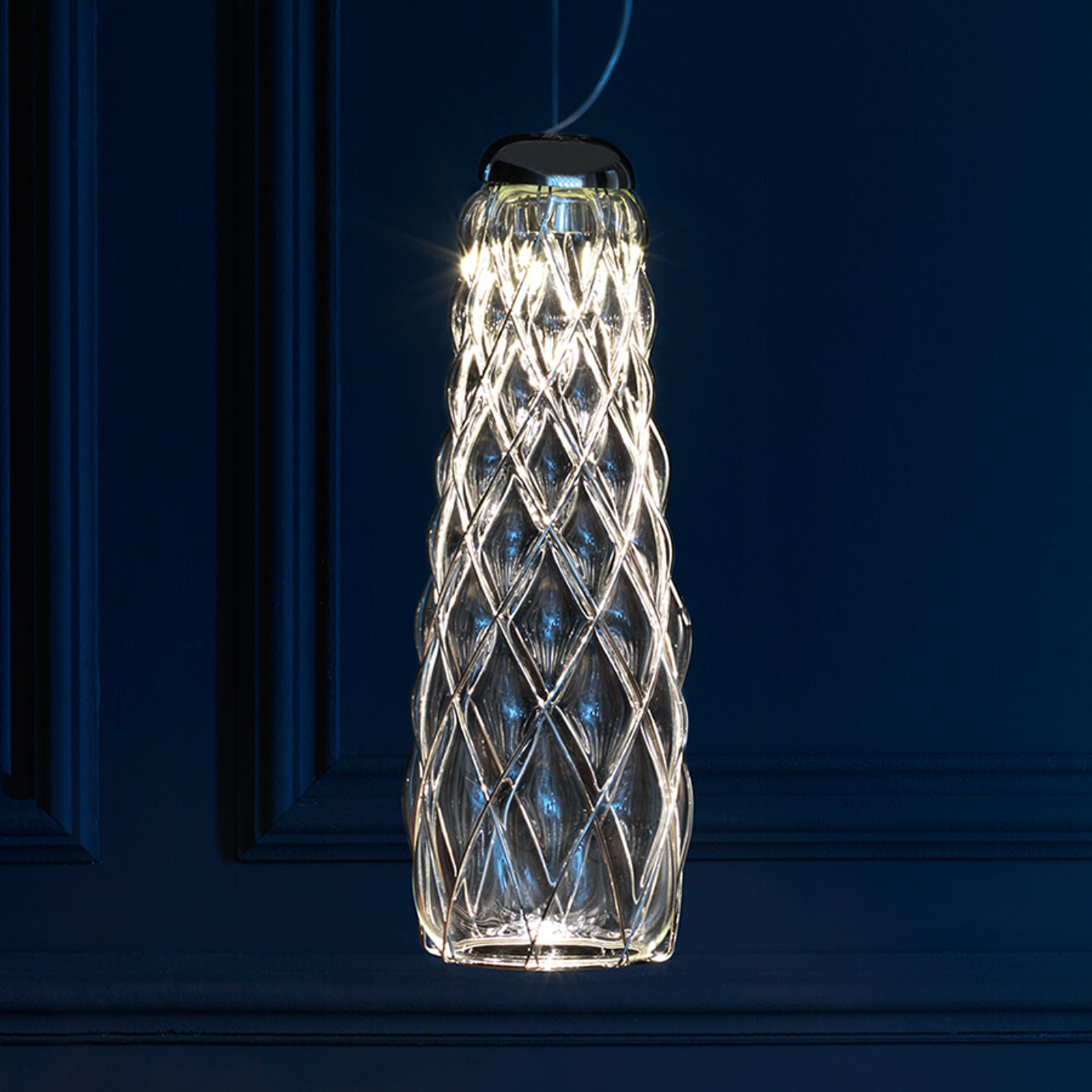 Fontana Arte Pinecone - LED-Pendelleuchte, klar