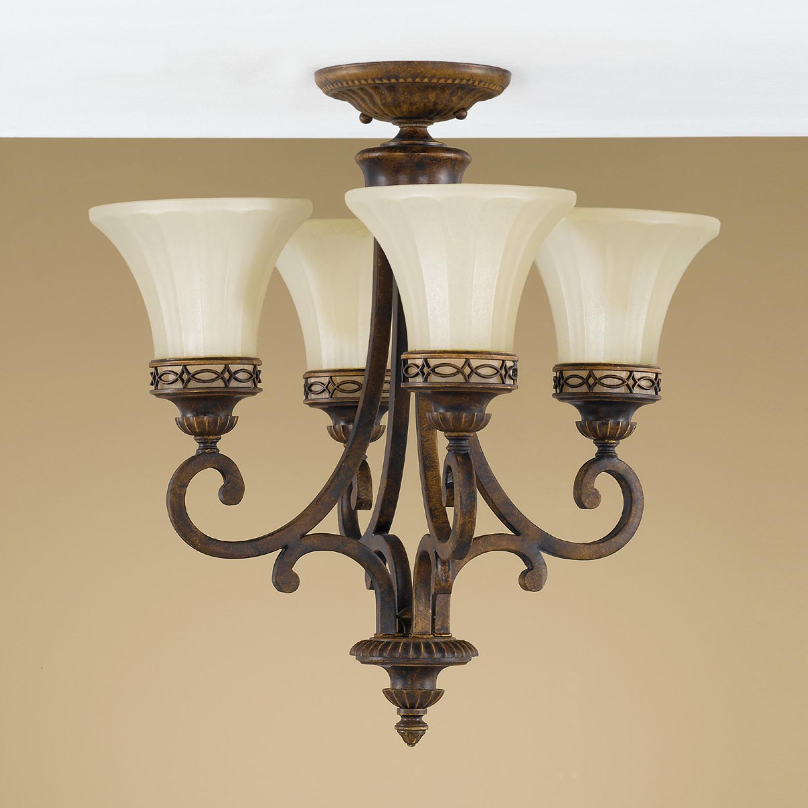 Závesná lampa Drawing Room, 4-plameňová_3048075_1
