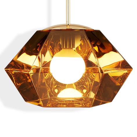 Tom Dixon Cut Short – závesná lampa, zlato