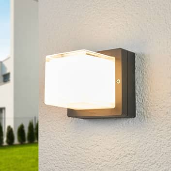 BEGA 22432K3 LED-væglampe, grafit, 3.000 K