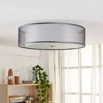 LED loftlampe Tobia kan dæmpes på kontakt, grå