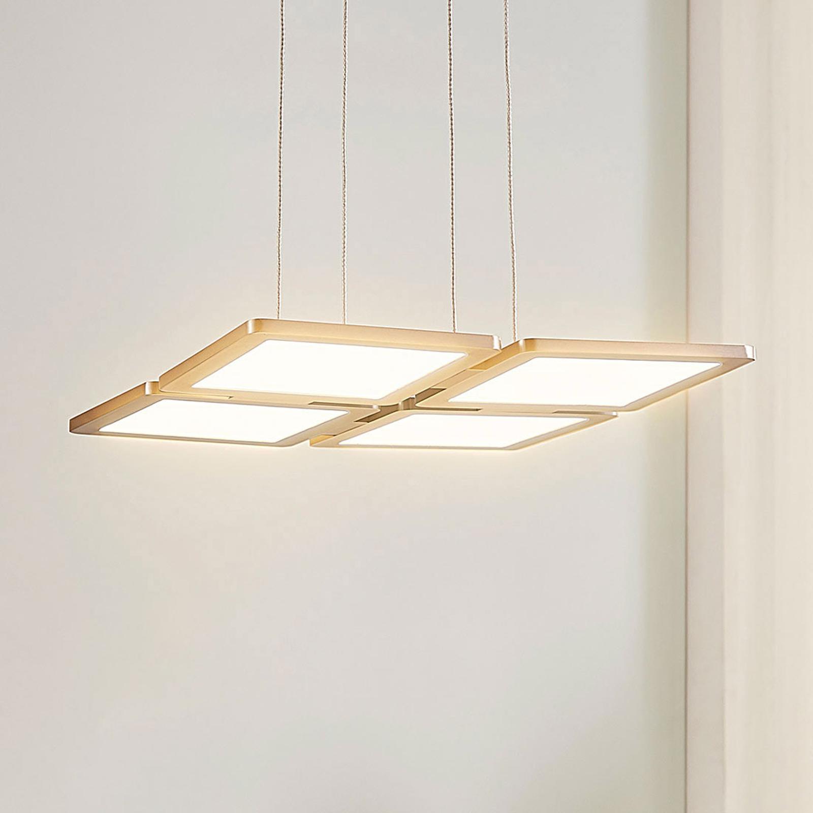 Lampa wisząca LED Elian, ściemniana
