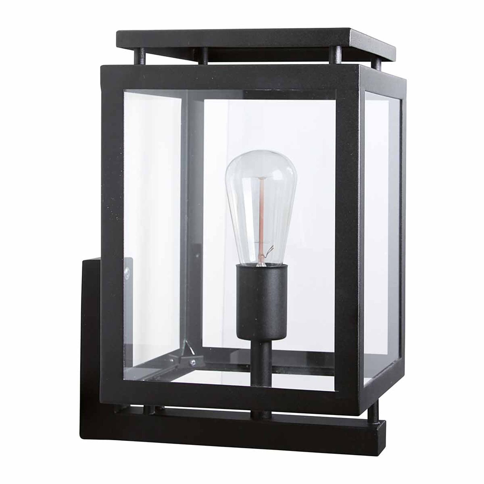 Buitenwandlamp DE Vecht, 37 cm, zwart