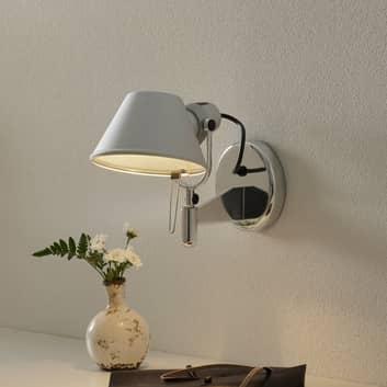 Pequeña lámpara de pared de diseño Tolomeo Faretto