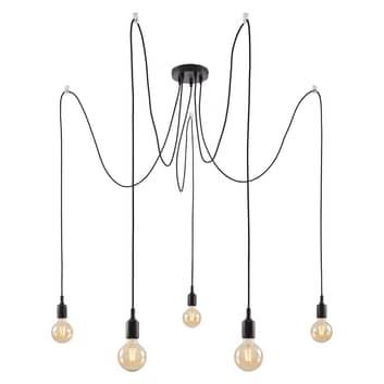 Paulmann Neordic Ketil hanglamp, 5-lamps