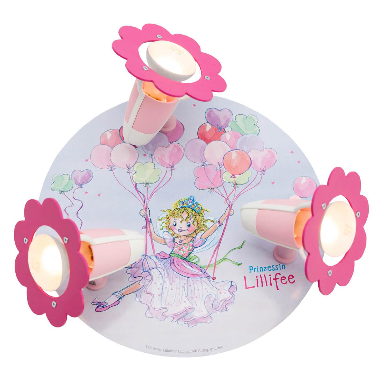 Plafondlamp Prinses Lillifee Rondell 3-lamps