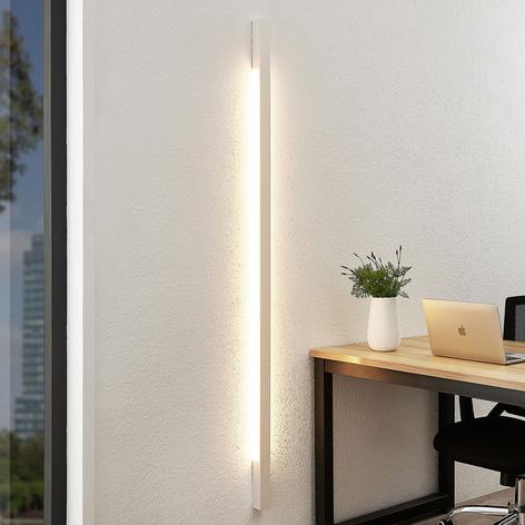 Arcchio Ivano LED-vegglampe, 170 cm, hvit