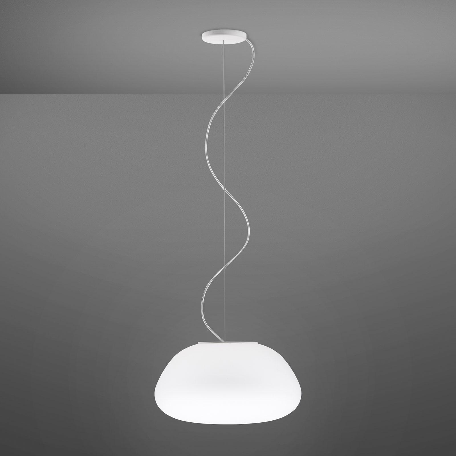 Fabbian Lumi Poga szklana lampa wisząca, Ø 42 cm