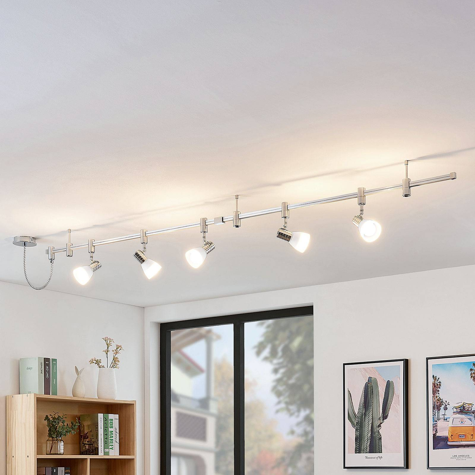 LED hoogvolt railsysteem Anjur, E14