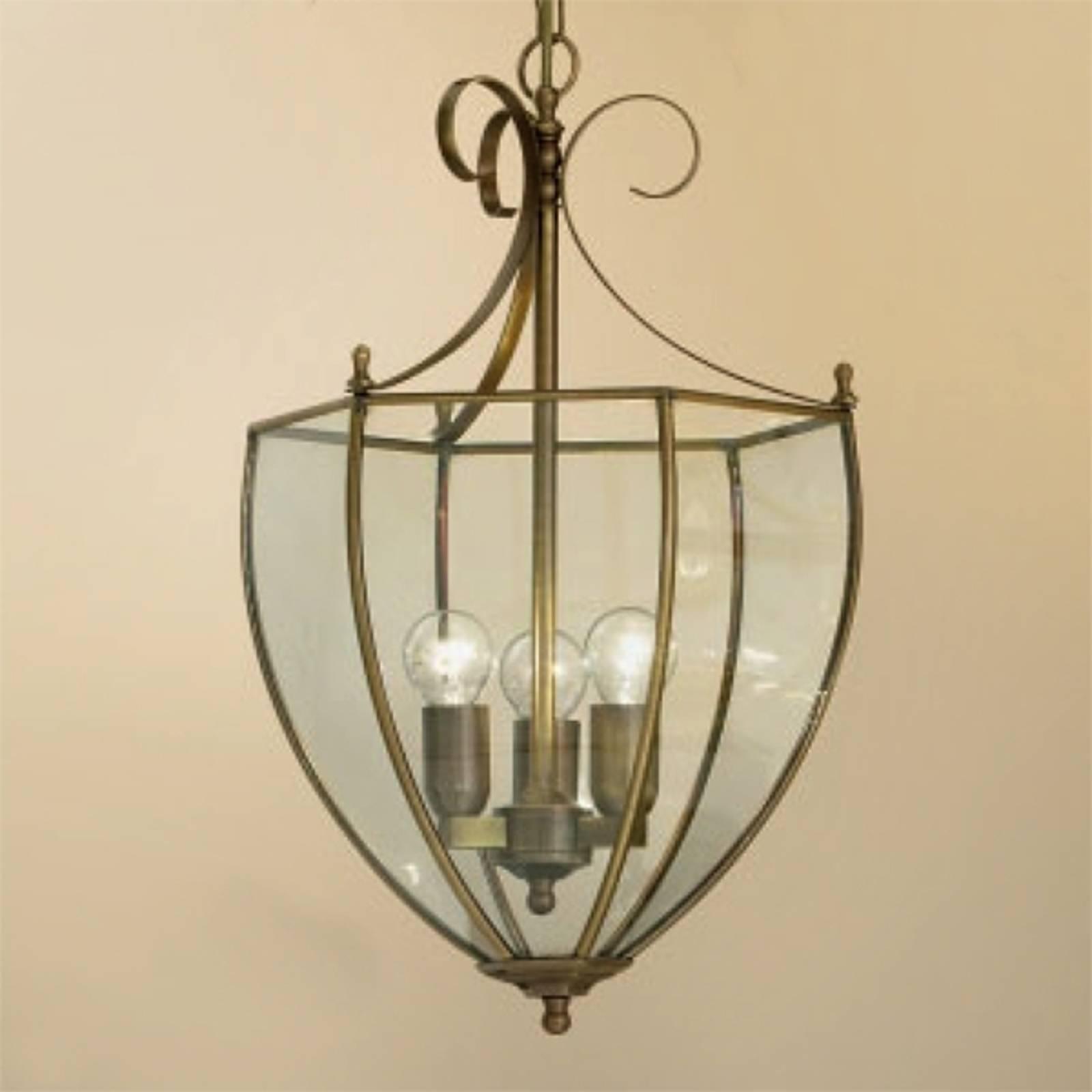 Mooie hanglamp Oper in brons-look
