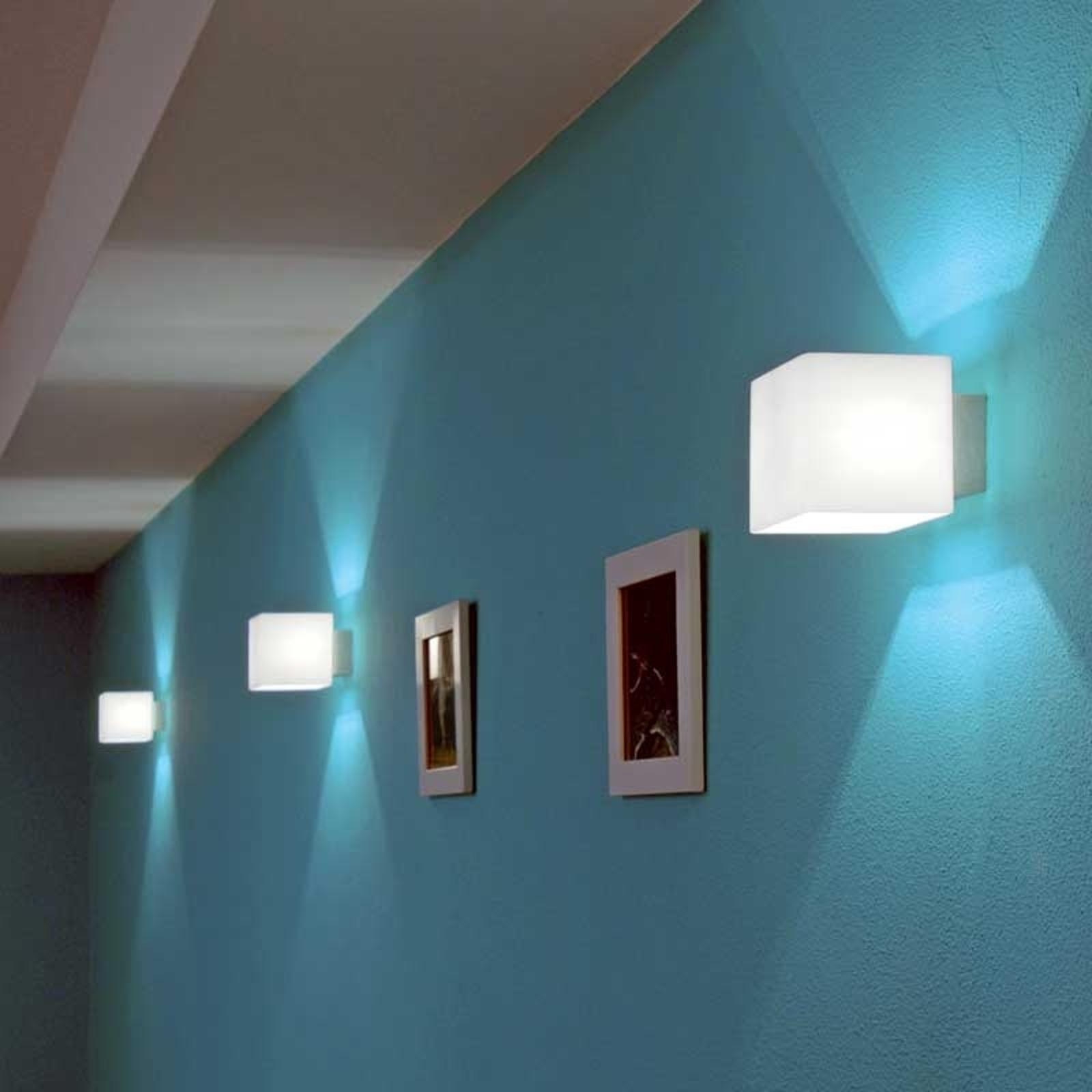 Casablanca Cube - nástěnné světlo, ochrana oslnění