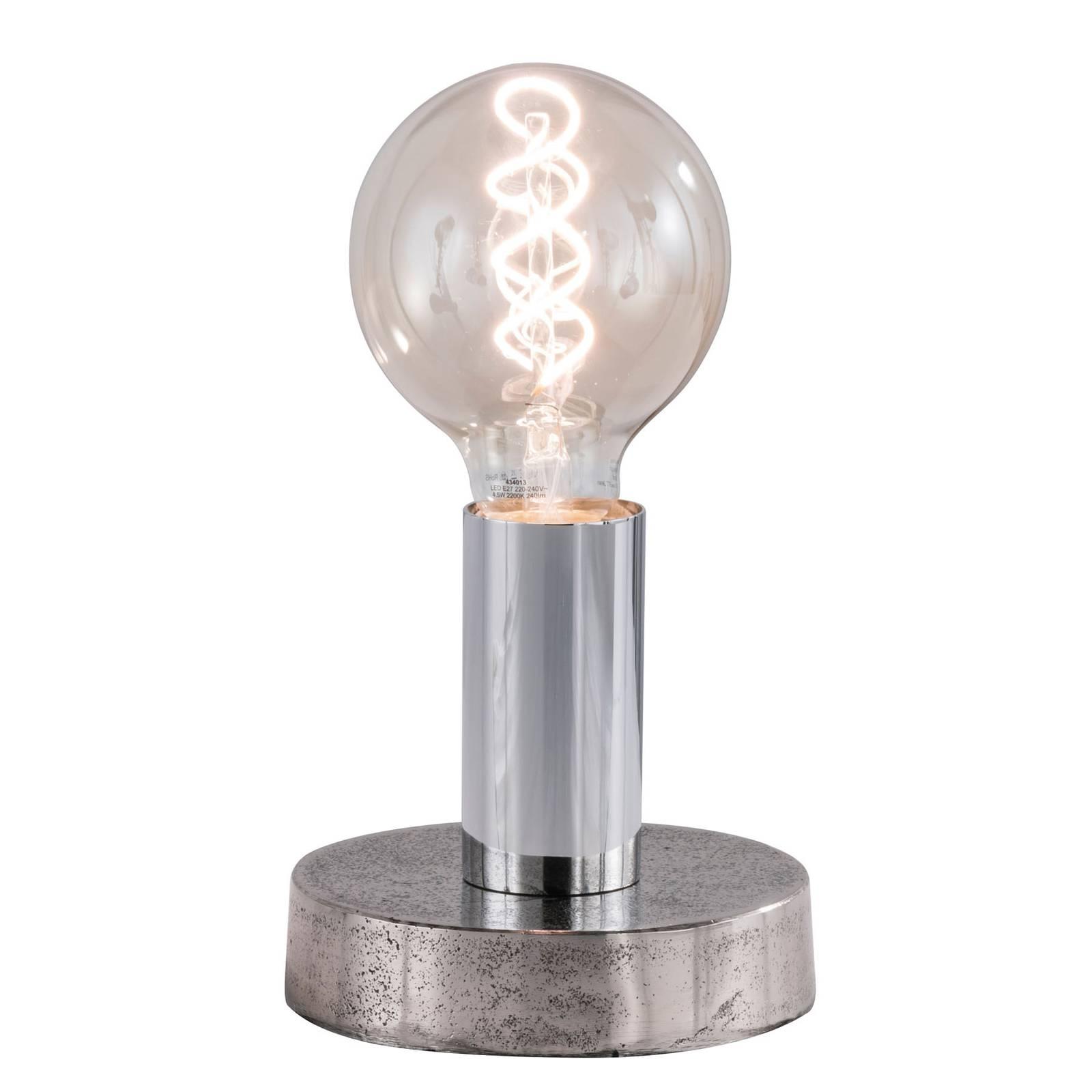Tafellamp Valence met ronde voet