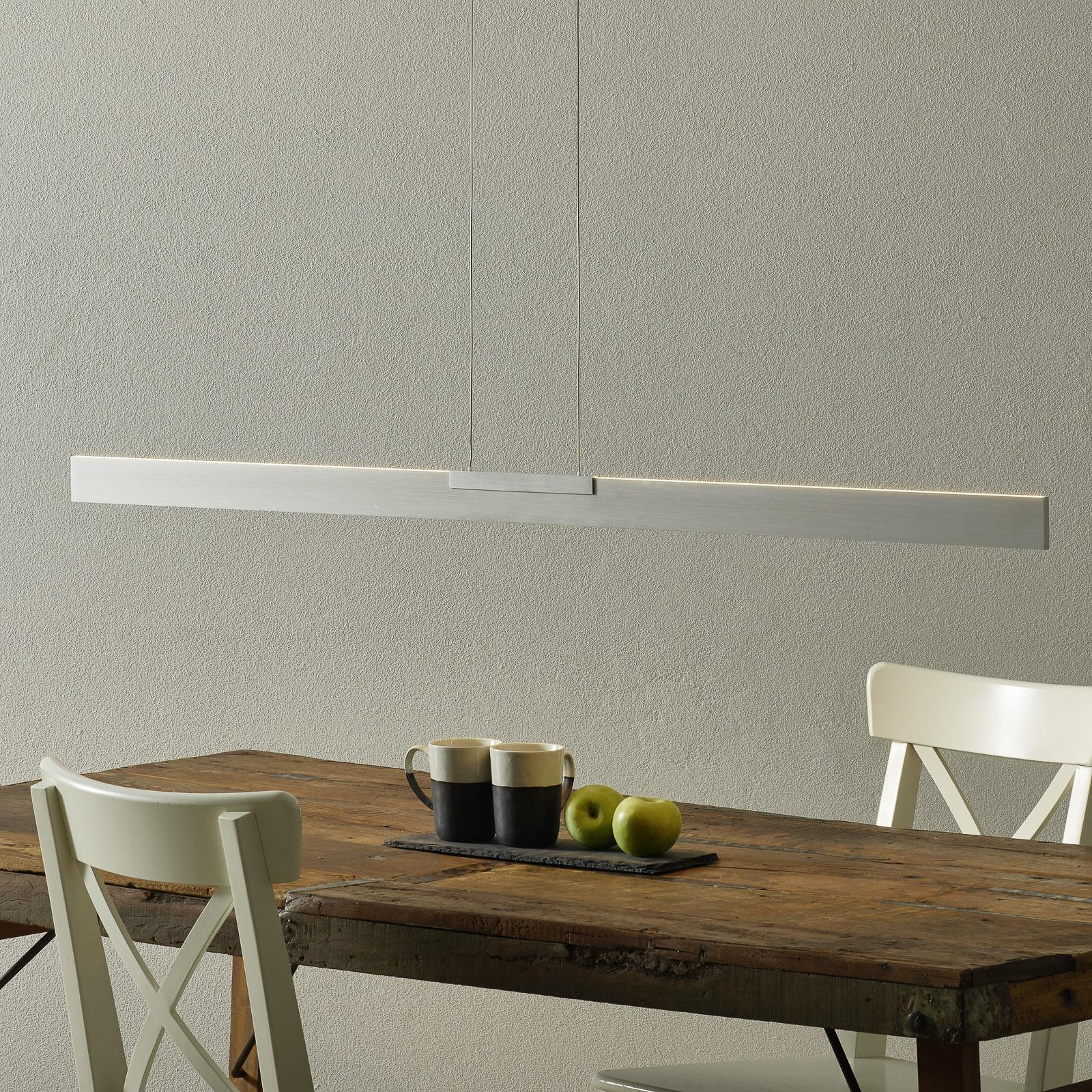 Bopp Nano - LED hanglamp, aluminium 140 cm
