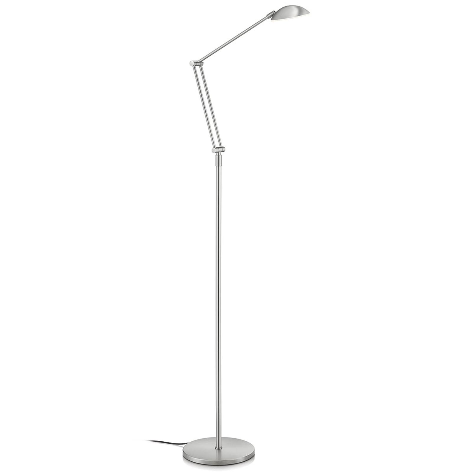 Variabele LED vloerlamp Artemis, gebarenbediening