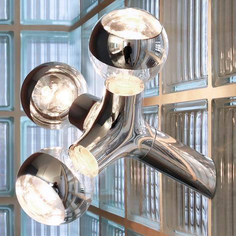 next DNA Wall/Ceiling Deckenlampe, chrom