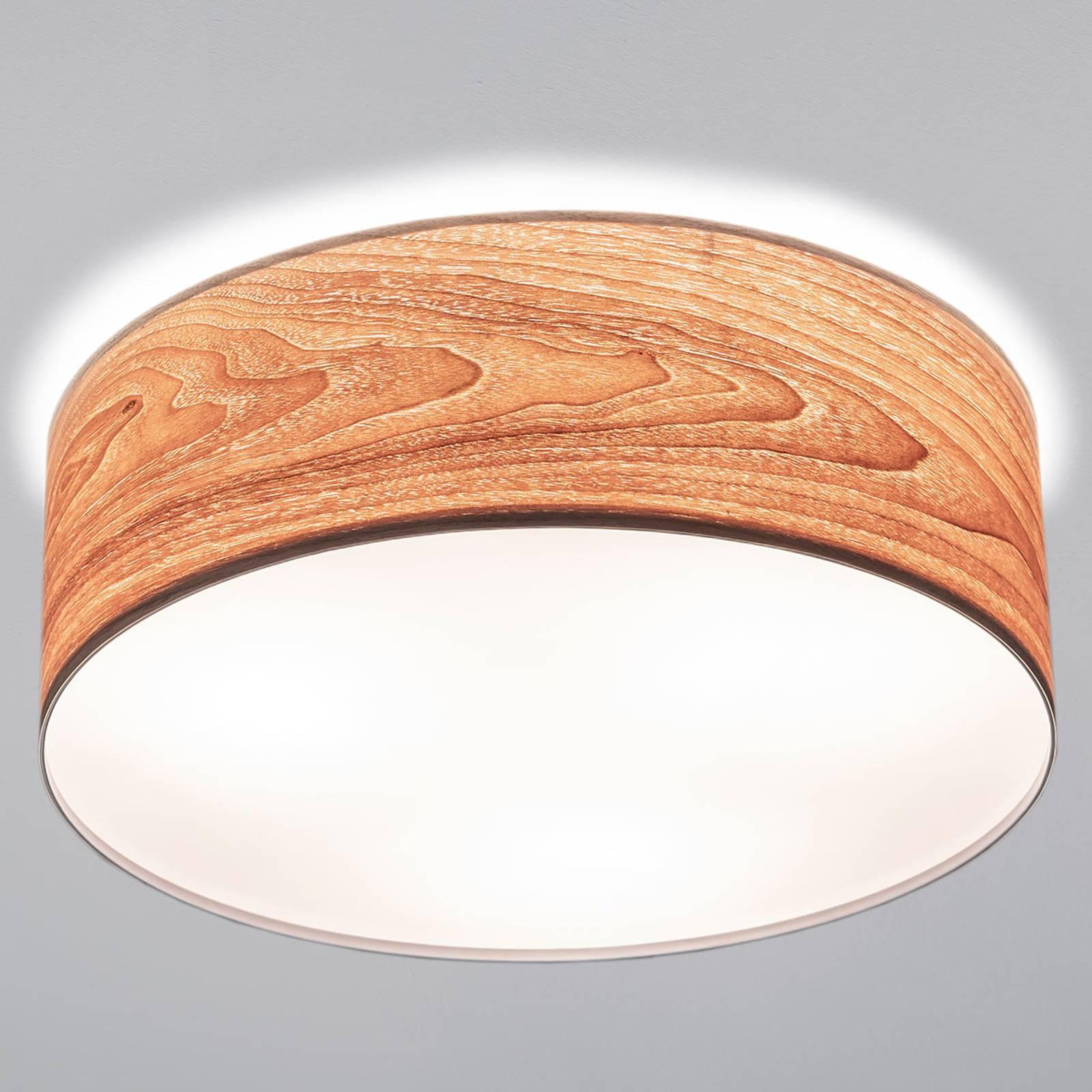 Topmoderne houten plafondlamp Liska