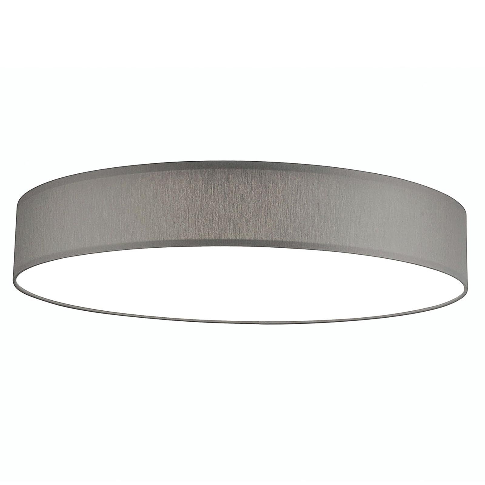 LED plafondlamp Luno XL 3.000K 100 W lichtgrijs