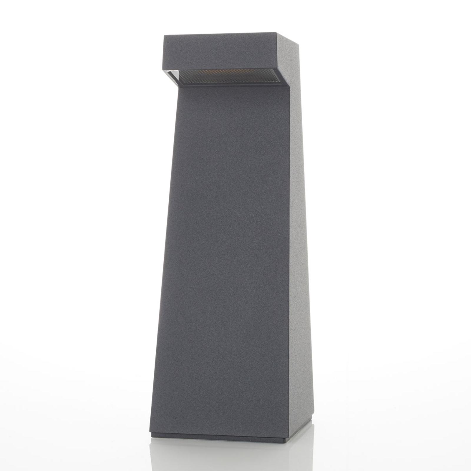 BEGA 84108 - LED-sokkellampe grafitt, 3 000 K
