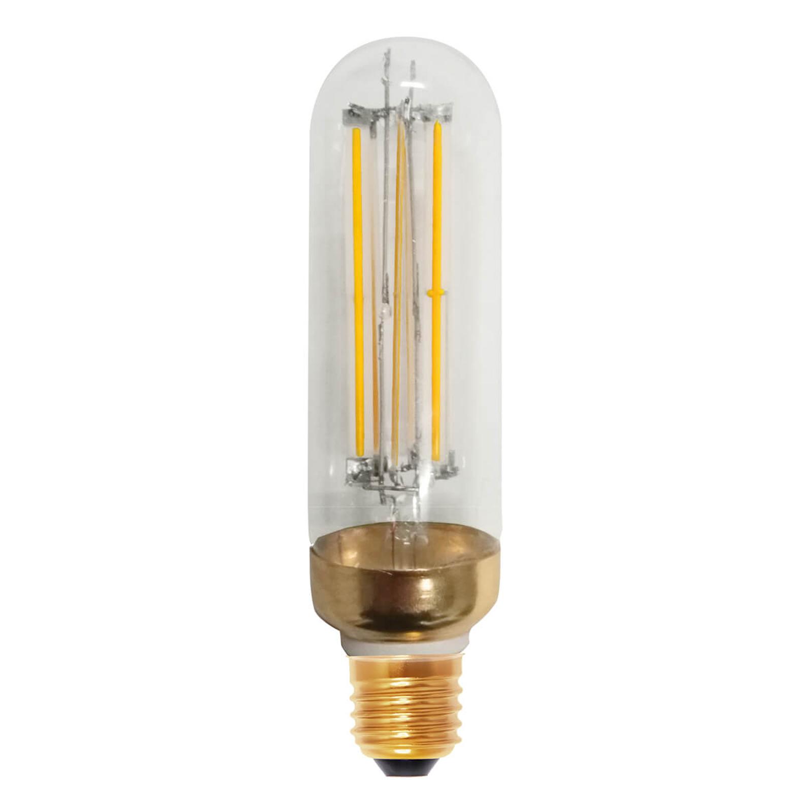 Tubo a filamenti LED 928 E27 15W, chiaro