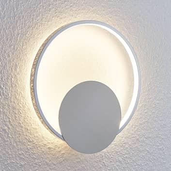 Lámpara de pared LED Anays, redonda, 32 cm