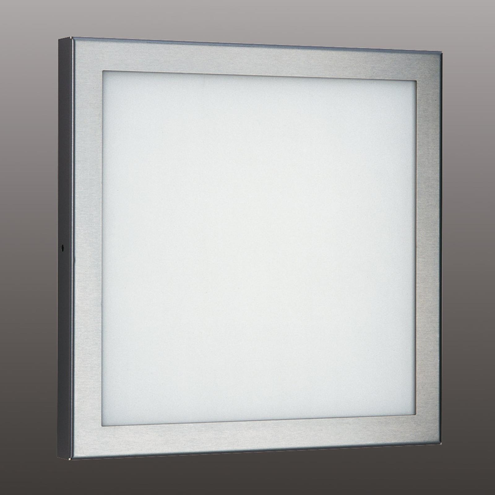 Helle LED buitenwandlamp Mette van roestvrij staal