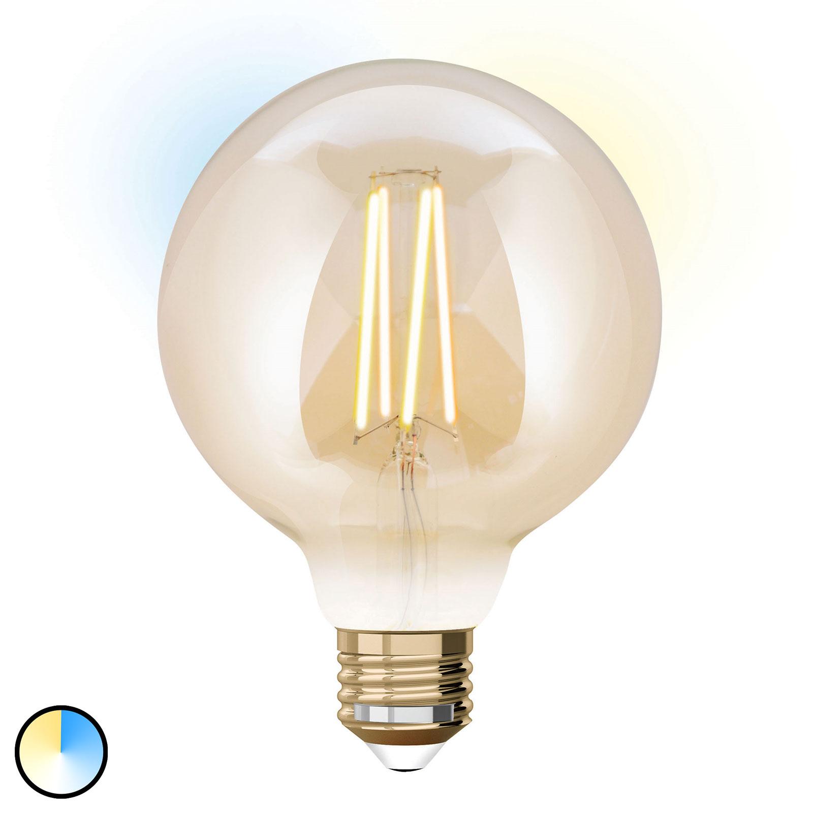 iDual LED žárovka globe E27 9W rozšíření 9,5 cm