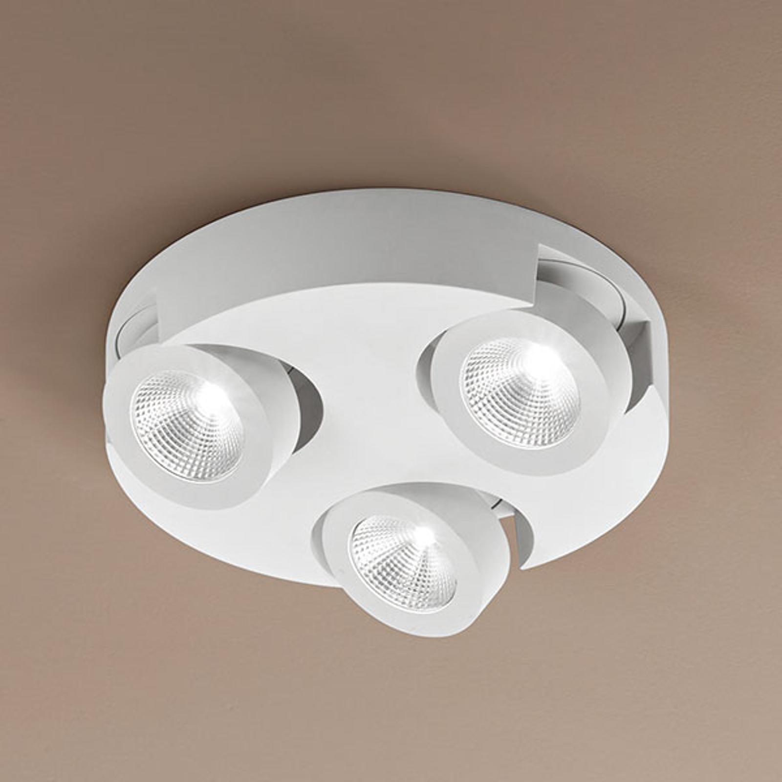 Okrągła lampa sufitowa LED Hella