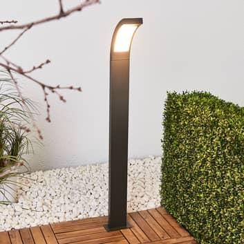 Juvia - LED tuinpad verlichting grafietgrijs alu