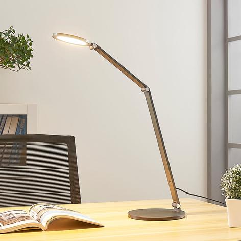 Lámpara de mesa LED Mion con atenuador