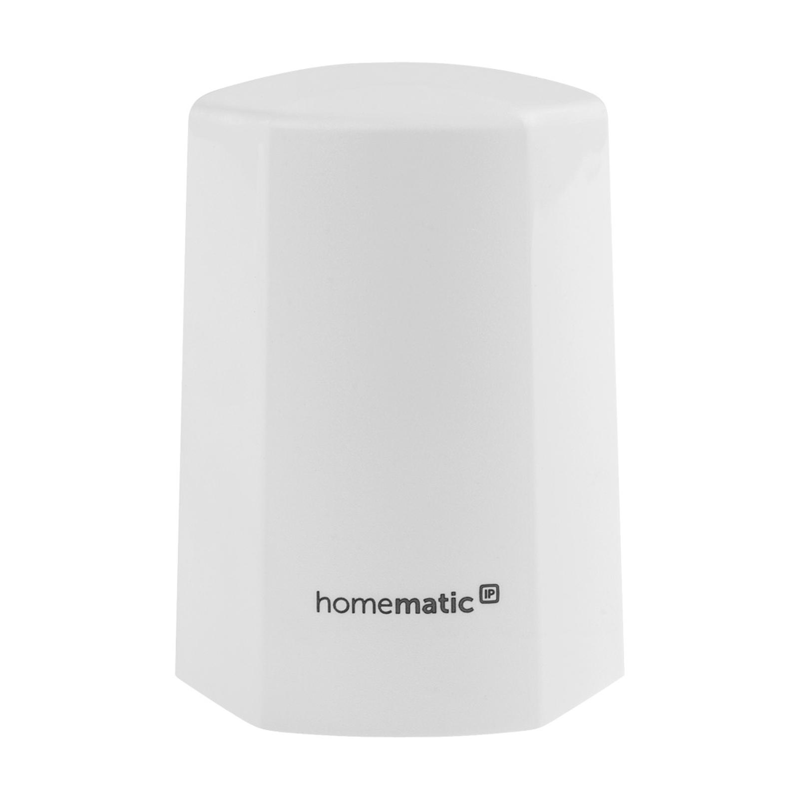 Homematic IP temperatur-/fuktighetssensor ute hvit